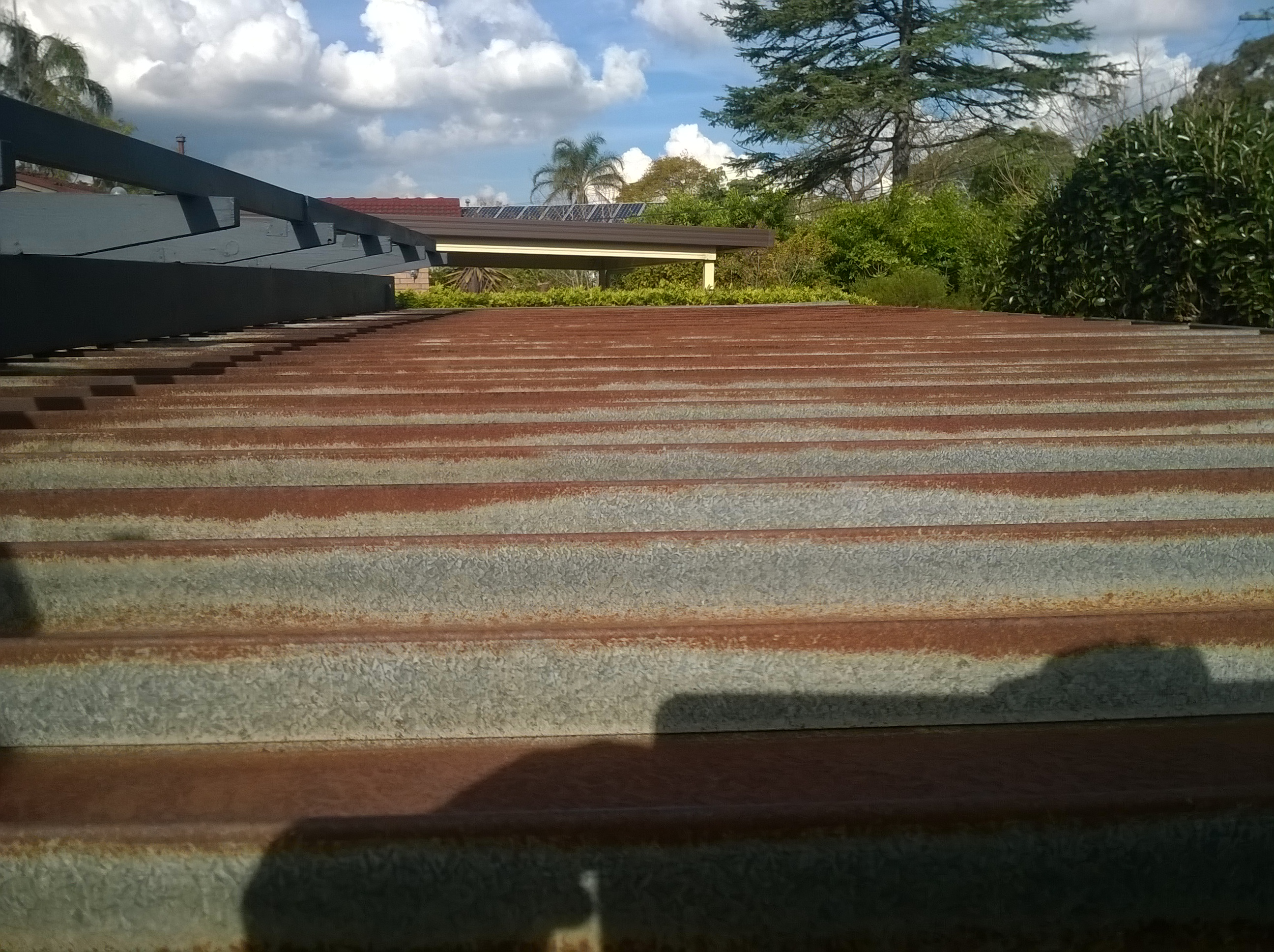 Rusted Metal Roof