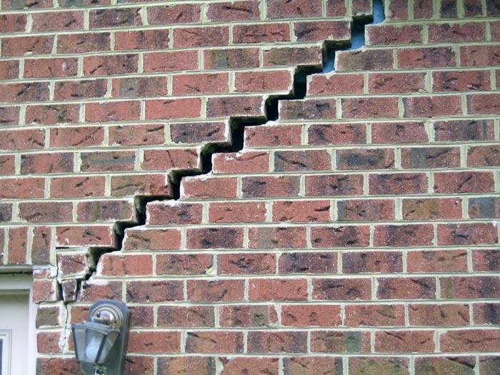 Structural damage-Foundation failure